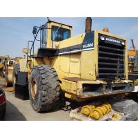 China KOMATSU WA500-1 Second Hand Wheel Loaders 4.4cbm Bucket  291HP Engine Power on sale