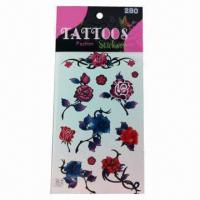 China Tattoo Stickers for Children, Available in Various Designs wholesale