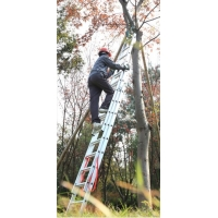 China En131 10.58m 3x15 Multipurpose Aluminium Foldable Ladder wholesale