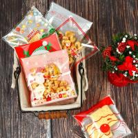 China Wholesale high quality Printing opp self adhesive plastic bag for Christmas candy packing wholesale
