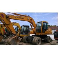 China Used Hyundai Wheel Excavator HYUNDAI 130-5 Wheel Excavator FOR SALE wholesale