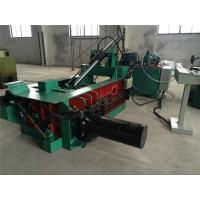 Buy cheap Pushing - Out Discharging PLC Control Scrap Baling Machine Hydraulic Drive from wholesalers