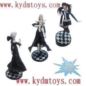 China MOQ(USD300) 17cm D-Gray Man action figure collectible toys (set) ky1119 wholesale