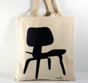 fashion burlap handbag