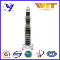 China Electrical Silicone / Rubber Composite Zinc Oxide Lightning Arrestors for High Voltage Circuit wholesale