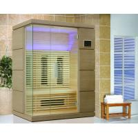 China Hemlock Home Infrared Sauna Kits 110v / 220v for Two Person on sale