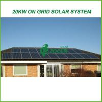 Quality Eco-friendly On Grid Solar Energy Products 20kw For Grid Tied Solar System for sale