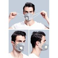 China FFP2,N95 face mask,KN 95 face mask with breathing valve Respirator ,face mask anti Bacteria,virus protection wholesale