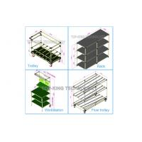 Quality Joint System Steel Pipe Rack CAD Drawing Model Industrial Shelving Units wholesale