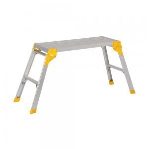 China Anti Slip 330Ibs Folding Aluminum Work Platform wholesale