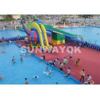Quality Bracket Frame Portable Swimming Pools For Public Place Entertainment for sale
