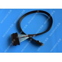 China Mini Serial Attached SCSI Cable SAS SFF-8087 36 Pin To SAS SFF-8484 32 Pin Cable 0.5 M wholesale