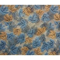 China Residential Fabric Jacquard Yarn-dyed Leaves H/R 25.0cm 420T/100% P/150gsm wholesale