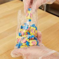 """China 5"""" X 9"""" Candy Plastic Flat Bags Clear Film Small Size With High Durability wholesale"""