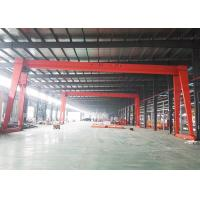 China Travelling Electric 10 Ton Gantry Crane Small Mobile Hoist Single Girder on sale