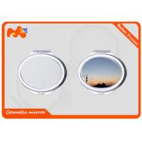 China Customized Sublimation Compact Mirror For Promotion Gift / Business Gift wholesale