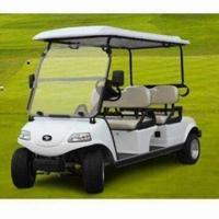 China 4-seater Electric Golf Car with 48V Electrical System, 5.5hp/4kW Horse Power and US Battery wholesale