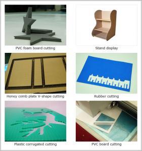 China 15mm thick foam forex corrugated coroplast eva epe carton sample maker cutter machine wholesale