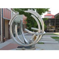 Buy cheap Street Decoration Contemporary Type Stainless Steel Outdoor Sculpture With Matt from wholesalers