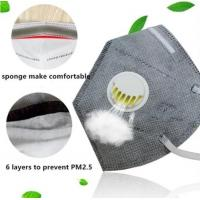 China 4 Layers 3m Breathing Respirator Mask Disposable Respirator Mask Ce / Fda Approved wholesale