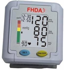 China Automatic Wrist Blood Pressure Monitor wholesale