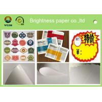Buy cheap C2s 100% Virgin Pulp Glossy Printing Paper For Label High Stiffness from wholesalers