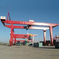 Buy cheap Portable Mobile Container Gantry Crane / 30.5T 40.5T Cargo Container Crane from wholesalers