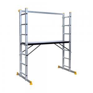 China 1.2mm 2X7 6063A Aluminium Scaffolding Ladder wholesale