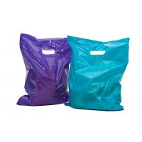 China 100 Glossy Merchandise Retail Gift Bags , LDPE Material Plastic Retail Bags wholesale