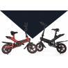 China 36V 6AH Folding Road Bike Aluminum Alloy Frame Bicycle 120kg Loading Ability wholesale