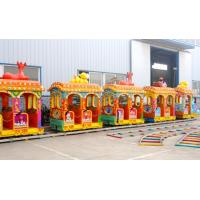 China elephant mini track train electric outdoor amusement park ride elephant train for sale on sale