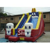 China 6.0 Mts High Big Rabbit Inflatable Slide For Kids N Adults Outdoor Fun wholesale