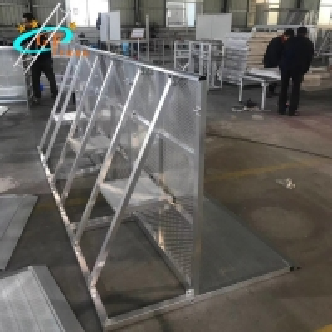 China TUV Exhibition 1.2m Crowd Control Aluminum Mojo Barrier wholesale
