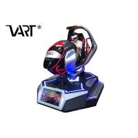 Buy cheap Racing Virtual Reality Equipment And Game Machine Driving Game Simuator from wholesalers