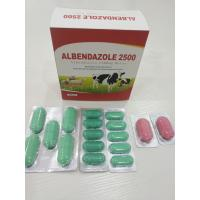 Buy cheap Albendazole Veterinary Tablets For Animal Feed BP/USP/CP Standard from wholesalers