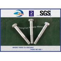 China DIN931 / DIN933 ASTM BS GB Standard Hot Dip Zinc Custom Railway HEX Bolt wholesale