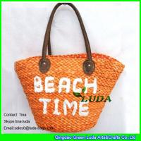 China LUDA online wholesale designer handbags  cornhusk summer beach straw bags wholesale