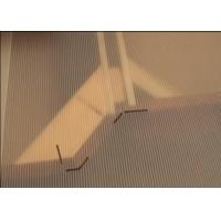 Buy cheap Clear Rigid Fluted Polypropylene Sheets For Templating Countertops from wholesalers
