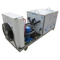 China Water Cooled / Air Cooled Block Ice Machine Easy Operation 5 Kg Ice Block Weight wholesale