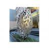 China Hollow Eggs Stainless Steel Sculpture Modern Installation Art Sculpture wholesale