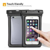 China Fully Submersible Waterproof Smartphone Case , Small Waterproof Bag With Air - Filled Frame wholesale