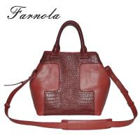 Quality 2015 fashion brand replica red shoulder bags for sale