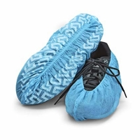 China disposable non woven medical shoes covers non slip waterproof anti shoes cover wholesale
