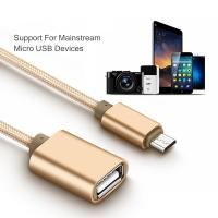 Buy cheap Micro USB OTG Cell Phone Data Cable Adapter Converter For Samsung Xiaomi LG Sony from wholesalers