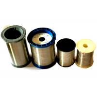 China Soft Stainless Fine Steel Wire For Complex Ply Yarn , 1009g Per Spool Package wholesale
