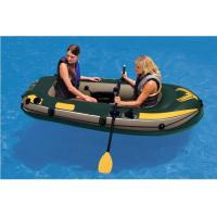 China Custom Logo 2 Person PVC Inflatable Boat For Rowing 240 X 135cm wholesale