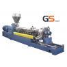 China PE Caco3 Twin Screw Extruder Granulation Machine Hot Cutting Pelletizing System wholesale