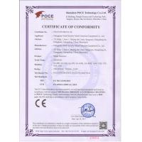 Dongguan V Finder Electronic Technology Co., Ltd. Certifications