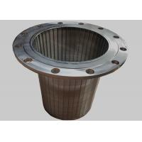 China Wedge Wire Screen for Tank Equipment, Johnson Resin Trap Filter With Flange wholesale