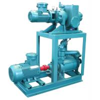 Buy cheap Mechanical Booster Water Vacuum Pump , 1.1kw Vacuum Ring Pump Positive from wholesalers